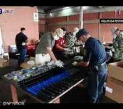 Caen armas de guerra en aeropuerto Guaraní