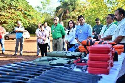 Itaipu fortalece acciones para intensificar controles en las áreas protegidas