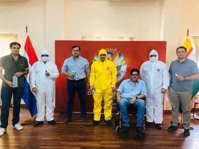 Gobernación de Misiones entregó lote importante de insumos y equipos de bioseguridad a la Octava Región Sanitaria