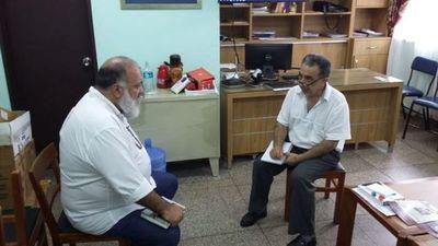 El Director General de Vigilancia de la Salud está en Pedro Juan