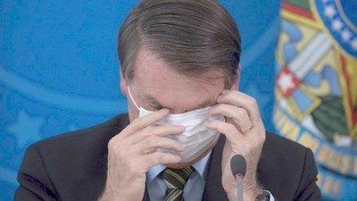 Los Bolsonaro armaron un flor de sarambi en Brasil