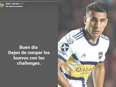 Júnior Alonso ikuerairo de los challenges