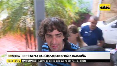 Aquiles Báez volverá a prisión