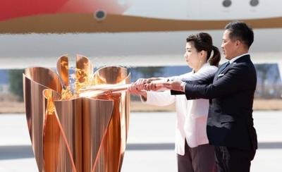 HOY / La llama de los Juegos Olímpicos de Tokio 2020 aterriza en Japón