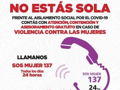 Instan a denunciar casos de violencia intrafamiliar durante aislamiento sanitario