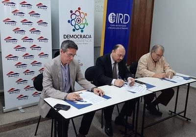Aduanas cooperará con organizaciones civiles para medidas de transparencia