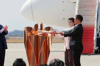 La antorcha olímpica está en Japón