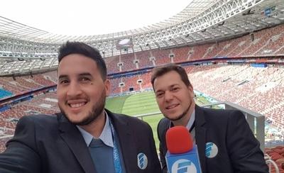 """HOY / El público y periodistas """"destrozan"""" a faranduleros de Telefuturo en Rusia 2018"""