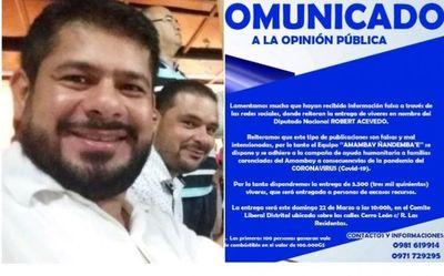 Coronavirus: Seccionalero de la Dinac juega con la necesidad de la gente de Pedro Juan