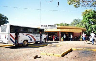 Varios municipios disponen cierre de sus terminales de ómnibus