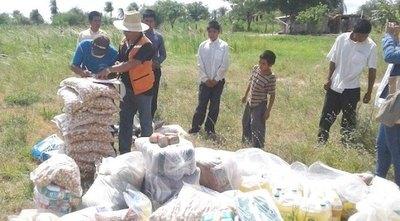 Solidaridad a lo ¡paraguayoite!: donan alimentos