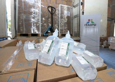 Itaipú ayuda a parque de salud