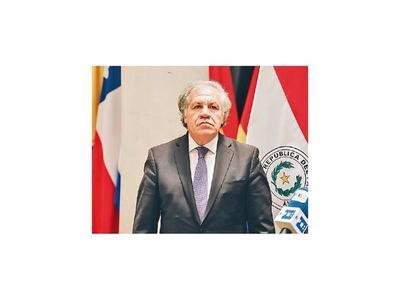 Almagro, reelecto al frente de Secretaría General de OEA