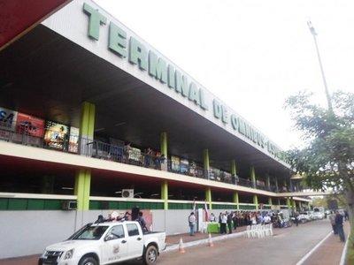 Disponen cierre total de la Terminal de Ómnibus de Asunción