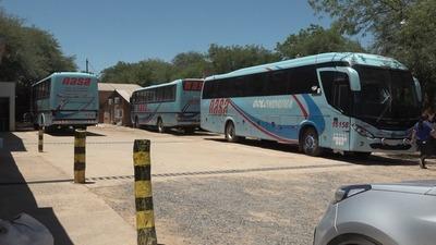 Desde hoy se suspende servicio de transporte público en Boquerón