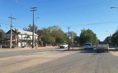 Un hermoso día y con poco movimiento en el Chaco