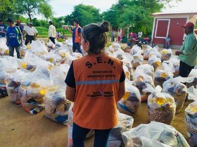Covid-19: Gobierno distribuirá 300.000 kits de alimentos a nivel nacional