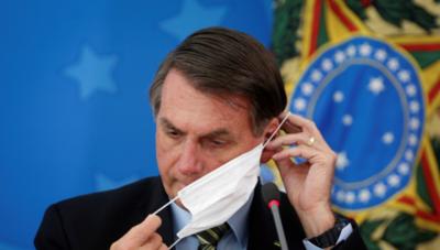 HOY / Bolsonaro anuncia que Brasil prepara la cura al COVID-19 y que no venderán a otros países