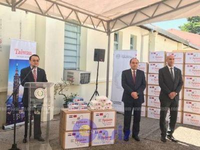 Covid- 19: Taiwán donó a Paraguay tapabocas y gorros quirúrgicos