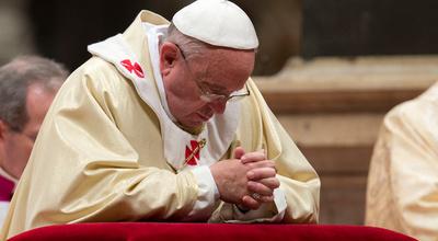 """Papa convoca a los fieles del mundo a rezar un """"Padre Nuestro"""" el 25 de marzo"""
