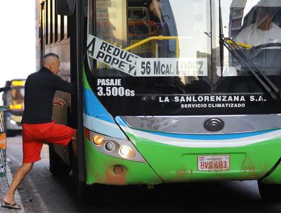 MOPC establece horarios de circulación del transporte de pasajeros