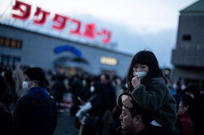 Multitud visita la llama olímpica en Japón