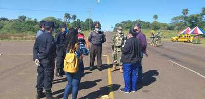Itapúa implementa barrera sanitaria para proteccion de sus pobladores