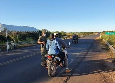 COVIC-19: Se inician controles militares y policiales en las rutas
