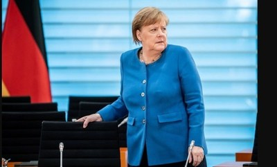Canciller alemana Angela Merkel entra en cuarentena