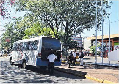 Suspenden el servicio de buses en Ciudad del Este