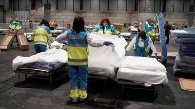 España suma 2.182 muertos y supera 30.000 contagiados por coronavirus.