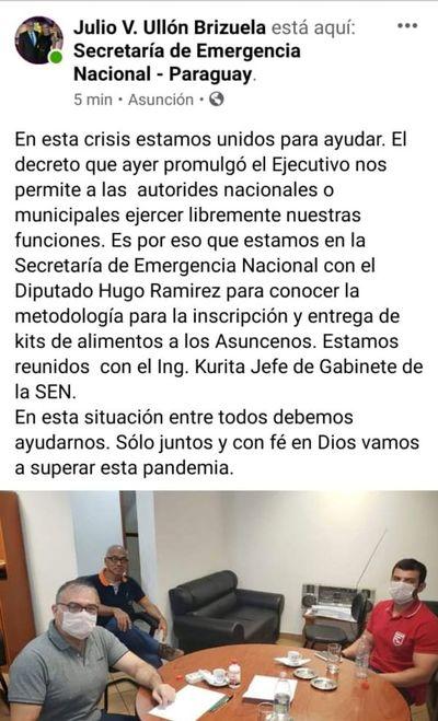 """Coronavirus: Ramírez y Ullón """"sugirieron"""" métodos para entregar kits pero sistema de la SEN es más """"justo y transparente"""", dicen"""