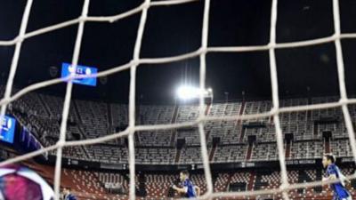 El fútbol en España se suspende de manera indefinida