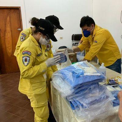 Destinarán 750 kits de protección para personal de la salud de Caazapá