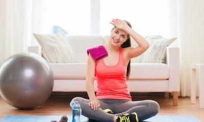 Ponete en forma en casa con estos ejercicios