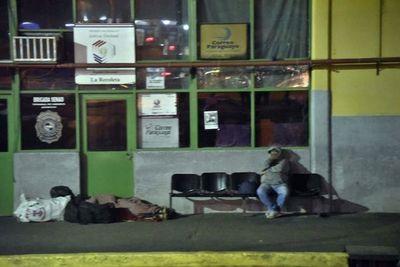 Unos 180 vendedores de zona Terminal afectados por clausura