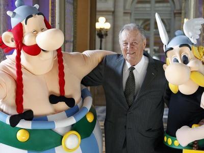 Falleció el legendario dibujante de Astérix, Albert Uderzo