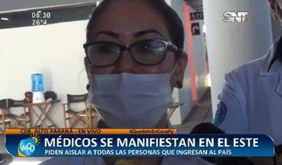 Doctora rompe en llanto y pide mayor control fronterizo