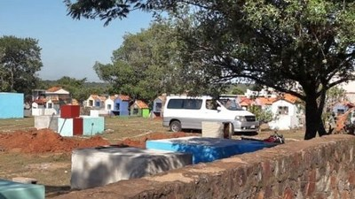 Sepelio en cementerio de Luque bajo llamativas medidas asustó a vecinos