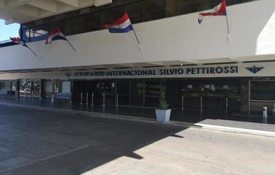Tras cancelación de vuelos comerciales, así luce el Aeropuerto Silvio Pettirossi