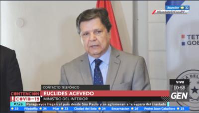 HOY / Paraguayos en el exterior no serán abandonados, asegura Acevedo