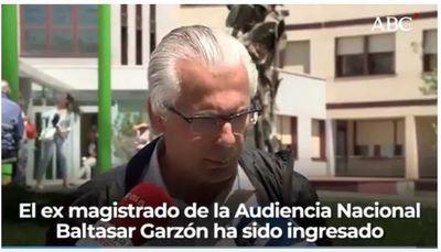 El exjuez Baltasar Garzón, ingresado por coronavirus