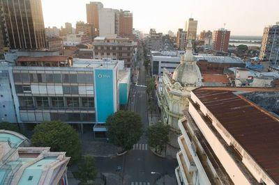 Asunción vive jornadas de calles vacías