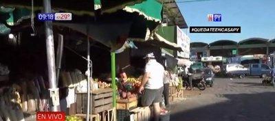 Rige horario escalonado en Mercado de Abasto