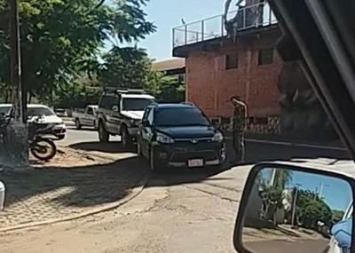 Concepción: Hombre recriminado por militar da su versión