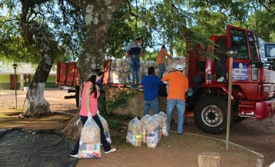 HOY / Gobernación de Amambay distribuye alimentos a sectores vulnerables