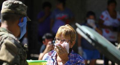 Las fuerzas federales argentinas detienen en 5 días a 2.226 personas por violar cuarentena