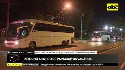 Retorno de paraguayos varados