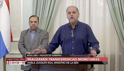 """Gobierno descarta kits y dará plata por """"giro"""""""