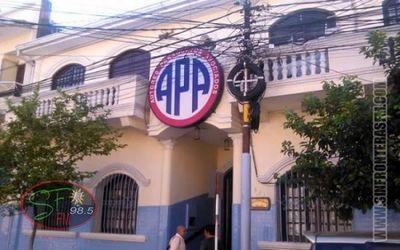APA desembolsará liquidación para sus socios